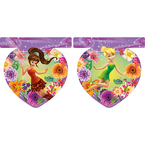 Disney Fairies, festone con bandierine