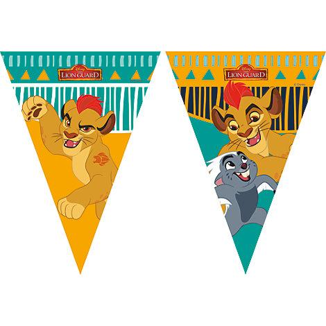 Lejonvakten flaggbanderoll