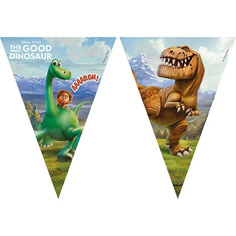 Den gode dinosaurien flaggbanderoll