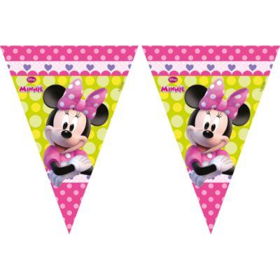 Guirlande de fanions Minnie Mouse