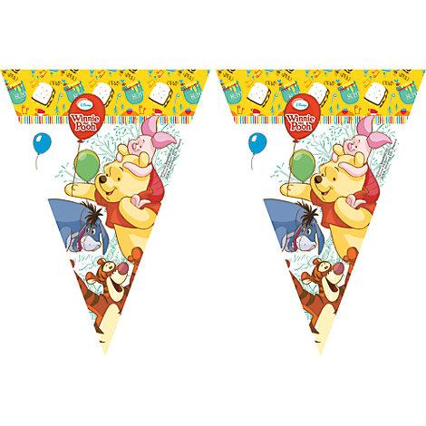 Winnie the Pooh, festone con bandierine
