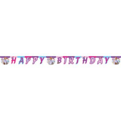 Cartel feliz cumpleaños Princesa Sofía