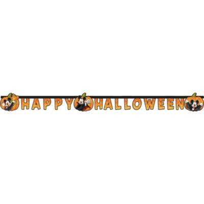 Guirlande Happy Halloween Mickey Mouse