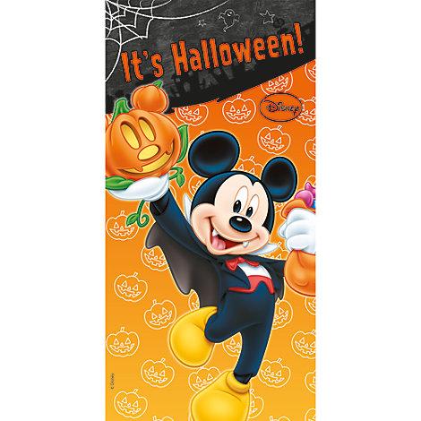 Cartel puerta Halloween Mickey