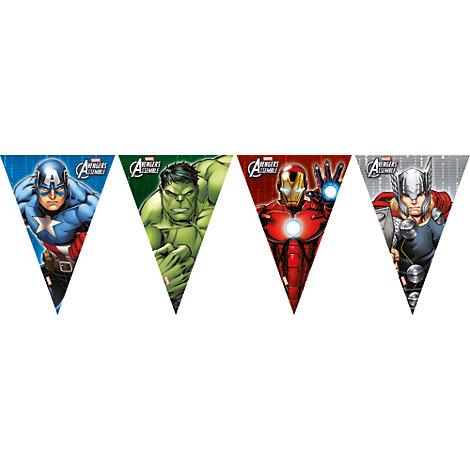 Avengers, festone con bandierine