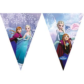 Cartel banderines Frozen