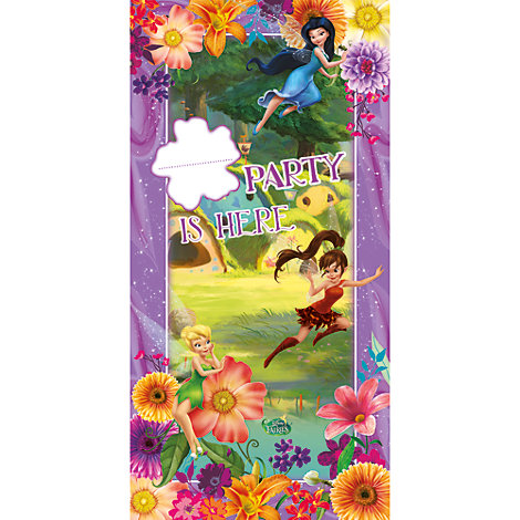 Cartel puerta disney fairies for Cartel puerta