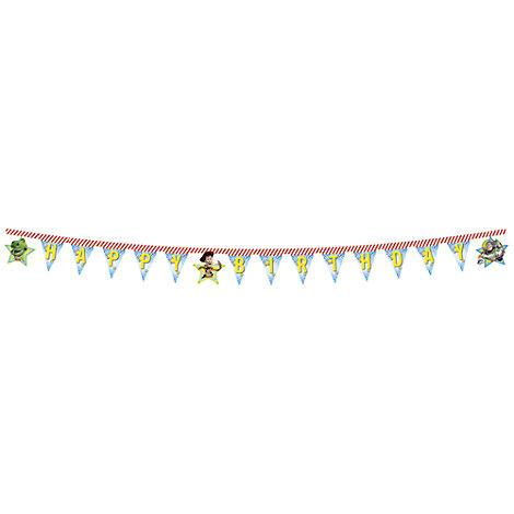 Banderines feliz cumpleaños Toy Story