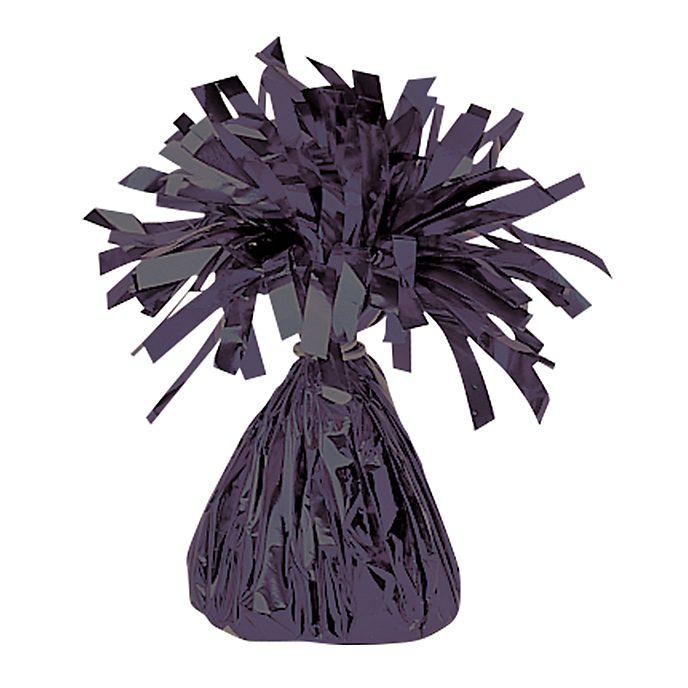 Poids pour ballon métallisé noir
