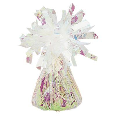 Peso per palloncini in foil iridescente