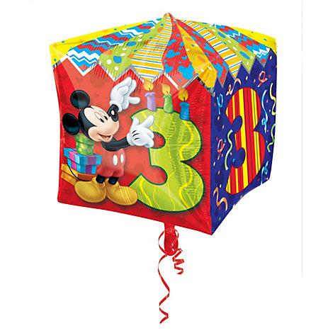 Mickey Mouse 3rd Birthday Balloon
