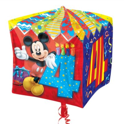 Ballon 4ème anniversaire Mickey Mouse