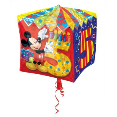Mickey Mouse 5th Birthday Balloon