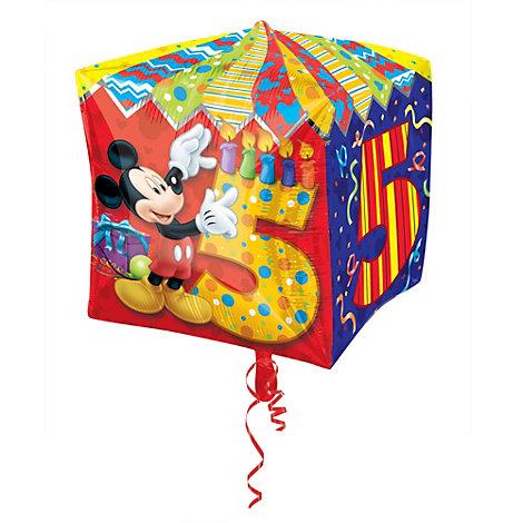Globo de quinto cumpleaños de Mickey Mouse