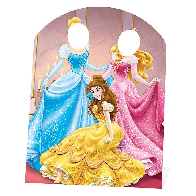 Personajes troquelados sin cara princesa Disney, Disney Store