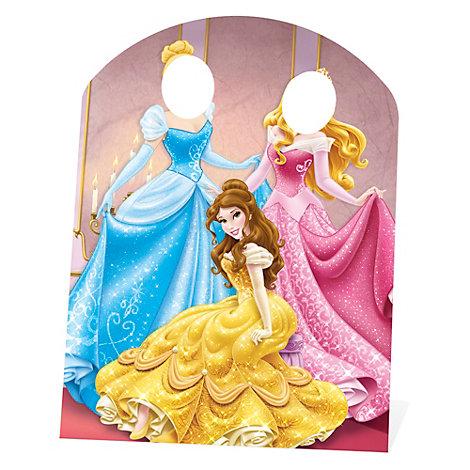Disney Prinsessor utstansad figur med hål för ansiktet