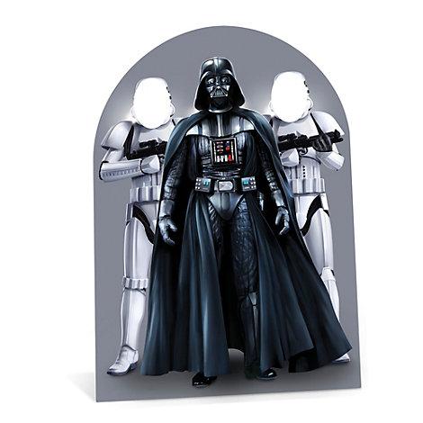 Star Wars utstansad figur med hål för ansiktet
