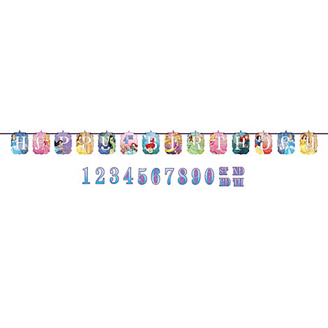 Disney Princess Personalised Birthday Banner