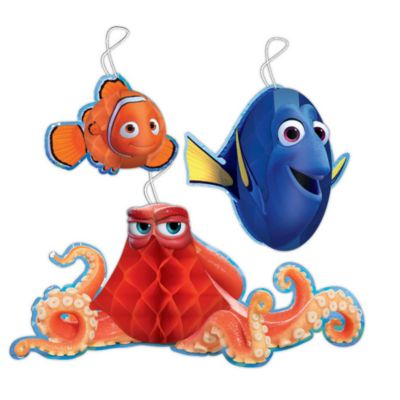 Finding Dory Honeycomb Party Decorations