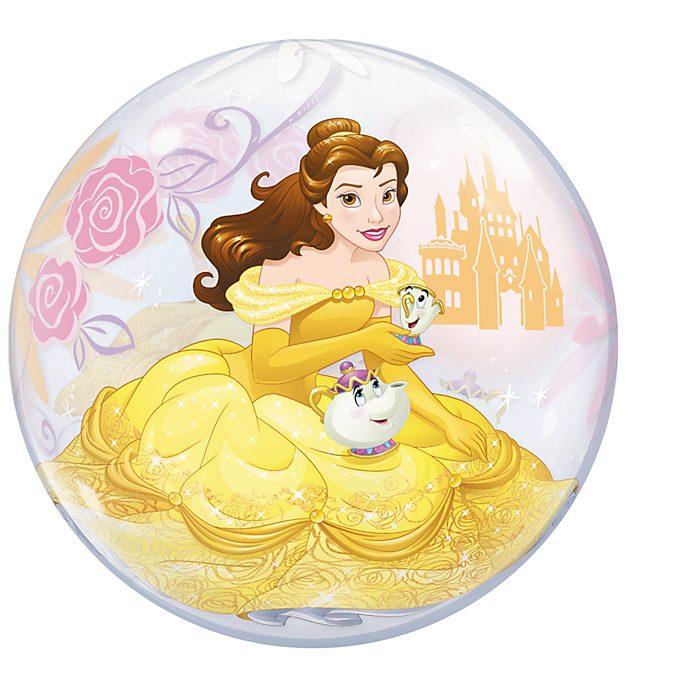 Die Schöne und das Biest - Luftballon in Seifenblasenoptik