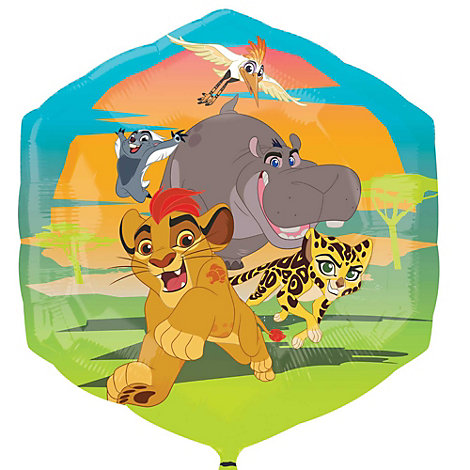 Die Garde der Löwen - Superform-Ballon