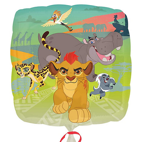 Lejonvakten folieballong