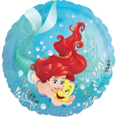 The Little Mermaid Foil Balloon
