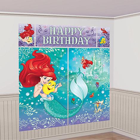 Arielle, die Meerjungfrau - Wanddekoration