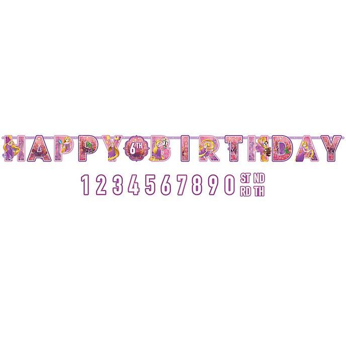 Rapunzel - Neu verföhnt - Geburtstagsgirlande personalisierbar