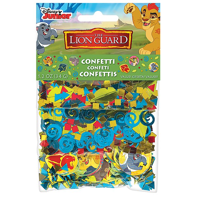 The Lion Guard, coriandoli decorativi
