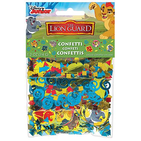 The Lion Guard, coriandoli decorativi