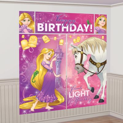 Rapunzel, scenografia per festa