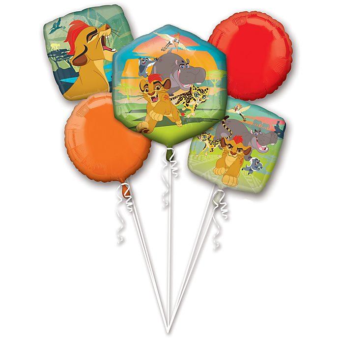 Bouquet de ballons La Garde du Roi Lion