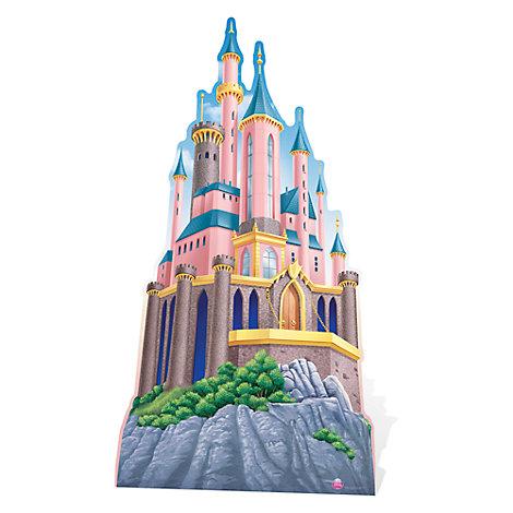 Figura troquelada castillo princesa Disney
