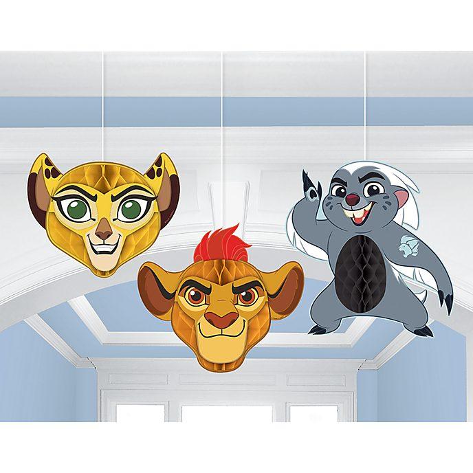 The Lion Guard, decorazioni per festa a nido d'ape