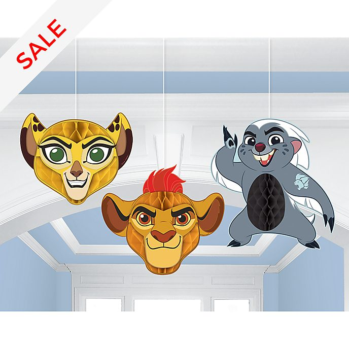 The Lion Guard Honeycomb Party Decorations