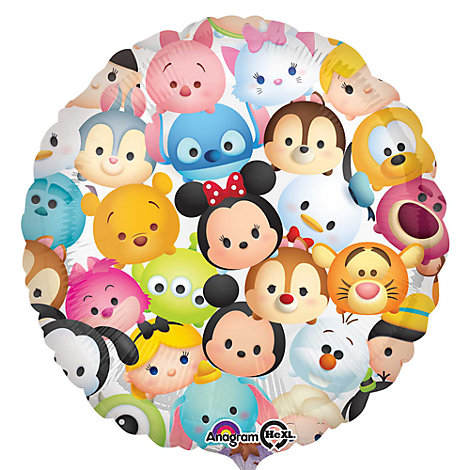 Disney, palloncino Tsum Tsum in foil