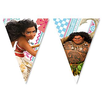 Disney Store Moana Flag Bunting