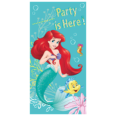 The Little Mermaid Door Banner