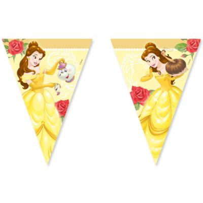 Beauty And The Beast Flag Bunting