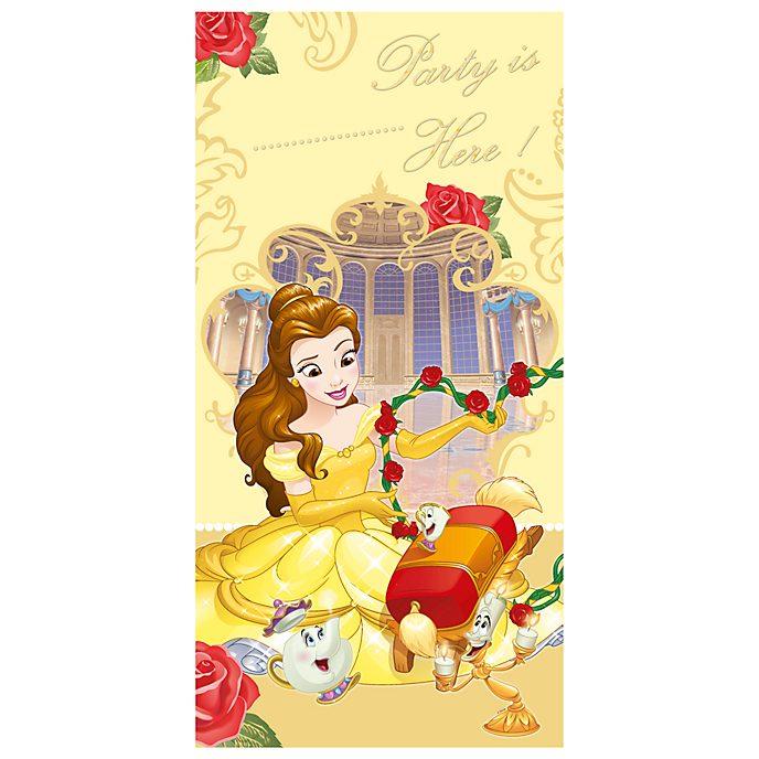 La Bella e la Bestia Disney Store, cartellone da appendere alla porta