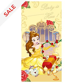 Disney Store Beauty And The Beast Door Banner