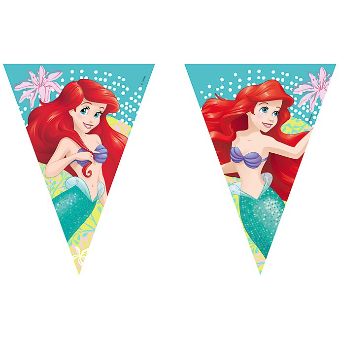 Disneyland Paris The Little Mermaid Flag Bunting