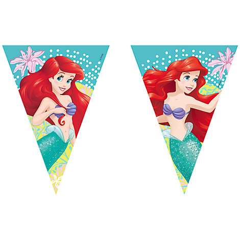 The Little Mermaid Flag Bunting