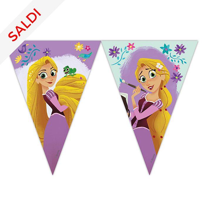 Festone con bandierine Rapunzel: La Serie