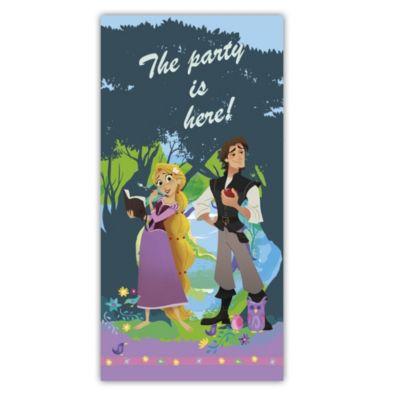 Cartel para la puerta de Enredados: la serie