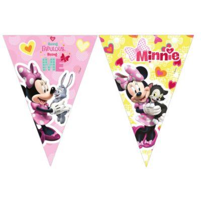 Minnie Mouse flagguirlande