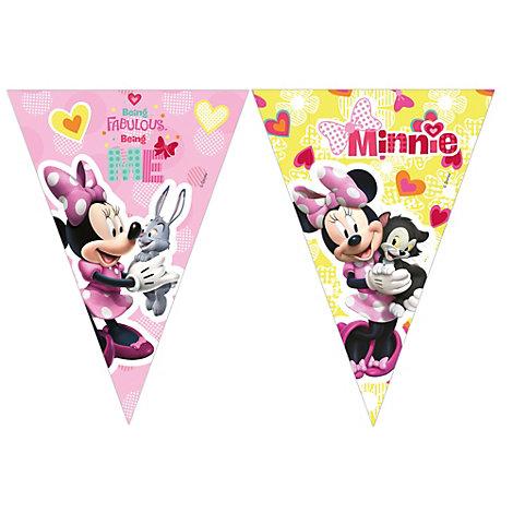 Cartel de banderines de Minnie