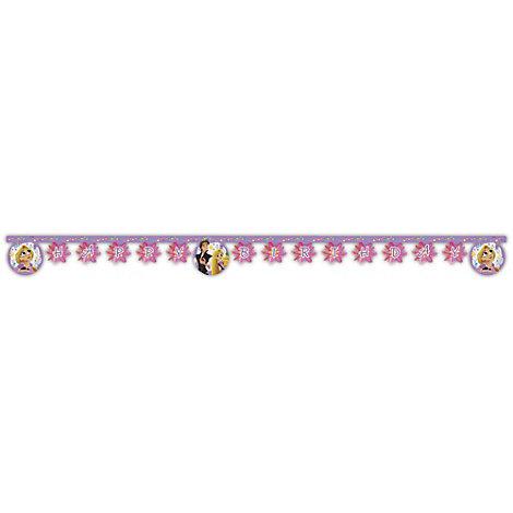 Rapunzel - Neu verföhnt, die Serie - Geburtstagsbanner