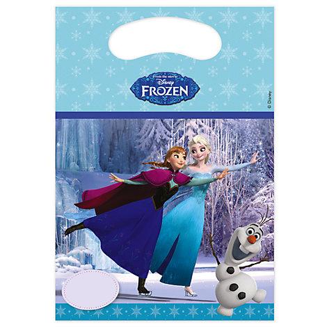 6 sachets cadeaux La Reine des Neiges